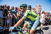 Castellon, SPAIN - SEPTEMBER 7: Ivan Rovny during LA Vuelta 2016 on September 7, 2016 in Castellon, Spain