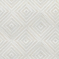 Bryce, a handmade mosaic shown in honed Afyon White, tumbled Thassos and Shell. Designed by Sara Baldwin Designs for New Ravenna.<br />
