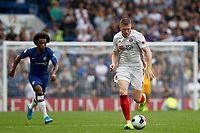 John Lundstram of Sheffield United during the Premier League match between Chelsea and Sheff United at Stamford Bridge, London, England on 31 August 2019. Photo by Carlton Myrie / PRiME Media Images.