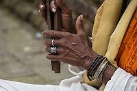 Old Hands at Pashupatinath, Nepal