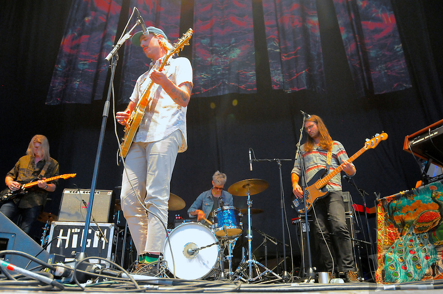NWA Democrat-Gazette/Jocelyn Murphy<br /> Rayland Baxter opens for The Lumineers Saturday, Oct. 1, 2016, at the Walmart AMP in Rogers.