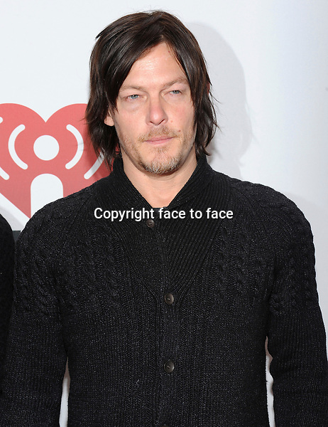 NEW YORK, NY - DECEMBER 13: Norman Reedus attends the Z-100 New York Jingle Ball presented by Aeropostale on December 13, 2013 in Madison Square Garden in New York City. Credit: RTNStevens /MediaPunch Inc.<br />
