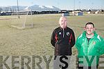 L-r: Noel White and Tony O'Neill.