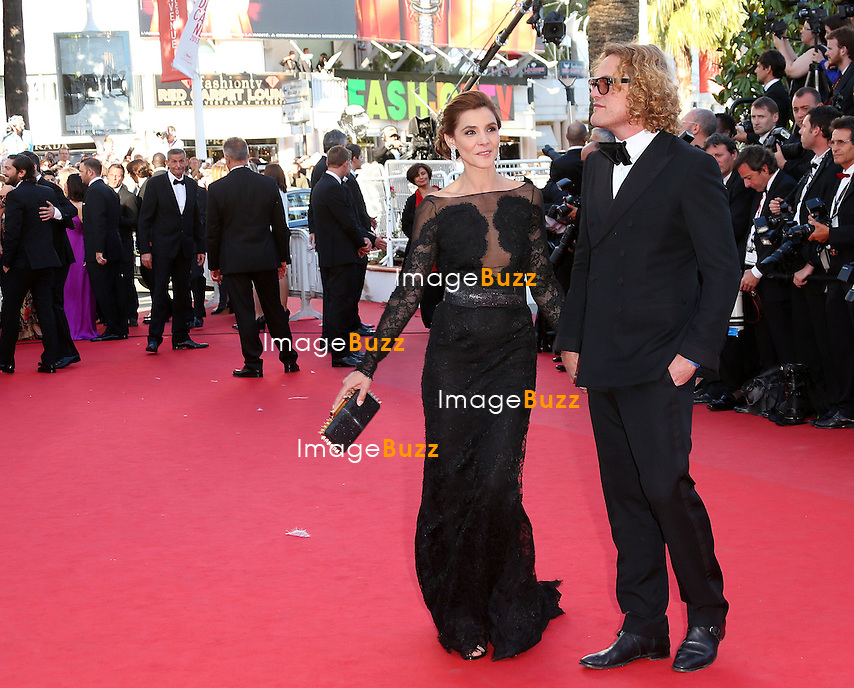 CPE/Clotilde Courau and Peter Dundas attends the 'The Immigrant' premiere during The 66th Annual Cannes Film Festival at the Palais des Festivals on May 24, 2013 in Cannes, France.