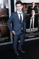 BEVERLY HILLS, CA, USA - OCTOBER 01: Ian Nelson arrives at the Los Angeles Premiere Of Warner Bros. Pictures And Village Roadshow Pictures' 'The Judge' held at the Samuel Goldwyn Theatre at The Academy of Motion Picture Arts and Sciences on October 1, 2014 in Beverly Hills, California, United States. (Photo by Xavier Collin/Celebrity Monitor)