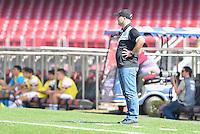 SÃO PAULO,SP, 31.07.2016 - SÃO PAULO-XV DE PIRACICABA - O jogador xxx do XV de Piracicaba durante partida válida pela 6ª (sexta) rodada da Copa Paulista 2016, no  no Estádio Cícero Pompeu de Toledo, o Morumbi, neste domingo, 31.  (Foto: Mauricio Bento/Brazil Photo Press)