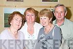 DANA: Having a good night at Dana in Concert in the Tintean Theatre, Ballybunion, on Friday night were Liz Egan, Causeway, Hilda Doody, Kilflynn, Mary and Jim Walsh, Listowel..