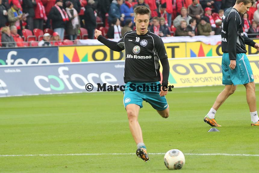 Vaclav Kadlec (Eintracht) - 1. FSV Mainz 05 vs. Eintracht Frankfurt, Coface Arena, 12. Spieltag