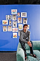 Mark Pincus - CEO of Zynga pictures: Executive portrait photography of Mark Pincus of Zynga by San Francisco corporate photographer Eric Millette