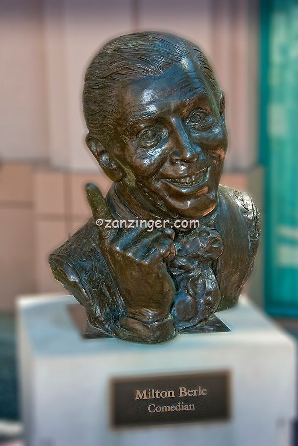 Milton Berle, Comedian, Academy of Television Arts & Sciences, Celebrity, Bronze, Sculptures, Sculptural Works, Public Art, Display, North Hollywood, CA