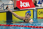 Mya Rasmussen, AON Swimming New Zealand National Age Group Swimming Championships, National Aquatic Centre, Auckland, New Zealand, Saturday 21 April 2018. Photo: David Rowland/www.bwmedia.co.nz