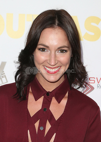 """WESTWOOD, CA - April 13: Christina Elizabeth Smith, At Premiere Of Swen Group's """"The Outcasts"""" At The Landmark Regent  In California on April 13, 2017. Credit: FS/MediaPunch"""