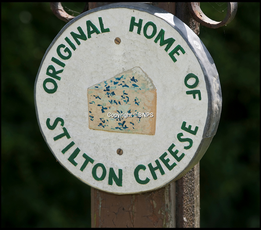 "BNPS.co.uk (01202 558833)<br /> Pic: PhilYeomans/BNPS<br /> <br /> Village sign.<br /> <br /> Cheesemakers from the village which gave world-famous Stilton its name have renewed hope of overturning a law which bans them from naming their product 'Stilton'.<br /> <br /> Villagers from Stilton in Cambridgeshire were cheesed off when in 1996 it was ruled that the  product could only be made in Leicestershire, Nottinghamshire and Derbyshire.<br /> <br /> After years of kicking up a stink over the ""farcical"" decision an application was made to Defra to get the protected designation of origin (PDO) extended to Stilton village.<br /> <br /> It was promptly dismissed despite evidence purporting to show that cheese was made in the village as far back as Roman times.<br /> <br /> But now campaigners are mounting another attempt at convincing the grand fromages in Whitehall that their cheese deserves recognition under the Stilton name.<br /> <br /> They are taking their fight to Defra minister George Eustice in the hope that their efforts have not all been in vein.<br /> <br /> Local historian Richard Landy, who for five years has spearheaded the campaign, says new evidence proves it was produced in Stilton village.<br /> <br /> Mr Landy dug up a Roman cheese mould buried in a field in the village in 2006 and has since discovered network of underground cellars thought to have been used to mature cheese.<br /> <br /> A cheese recipe was also found in letter printed in a 1726 edition of General Treatise of Husbandry and Gardening adding further weight to his plight."