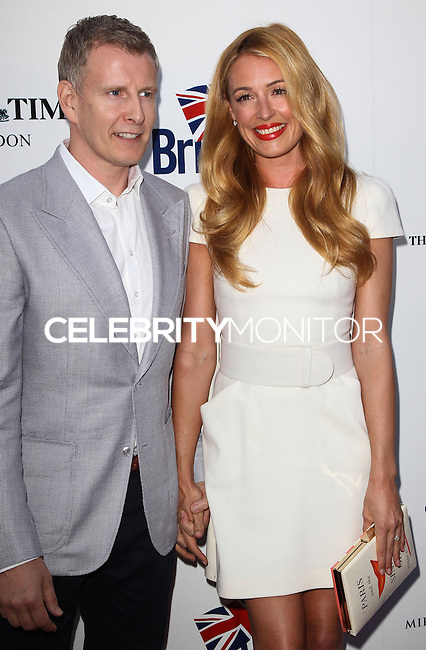LOS ANGELES, CA, USA - APRIL 22: Patrick Kielty, Cat Deeley at the 8th Annual BritWeek Launch Party on April 22, 2014 in Los Angeles, California, United States. (Photo by Celebrity Monitor)
