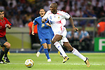 09 July 2006: Patrick Vieira (FRA) (4). Italy tied France 1-1 in overtime at the Olympiastadion in Berlin, Germany in match 64, the championship game, of the 2006 FIFA World Cup Finals. Italy won the World Cup by defeating France 5-3 on penalty kicks.