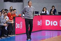 Spain coach Sergio Scariolo during FIBA European Qualifiers to World Cup 2019 between Spain and Slovenia at Coliseum Burgos in Madrid, Spain. November 26, 2017. (ALTERPHOTOS/Borja B.Hojas) /NortePhoto NORTEPHOTOMEXICO