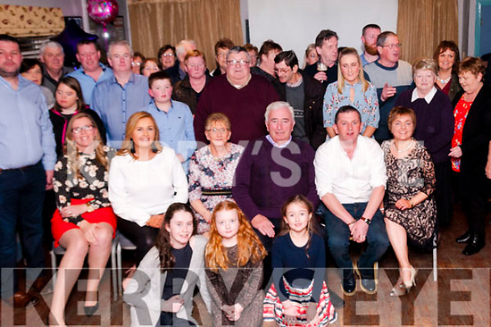 70th Birthday: Eileen Brennan, Kilflynn , third from left seated, celebrating her 70th birthday with fmaily & friends at Parkers Bar, Kilflynn on Saturday night last.