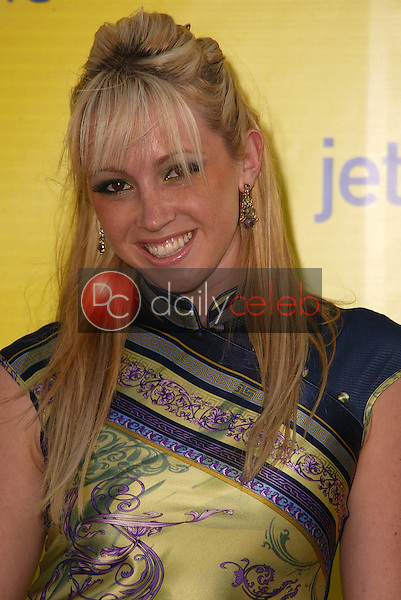 Jennifer Tisdale<br /> at the launch of Jet Blue out of Burbank and 25th anniversary screening of &quot;Airplane&quot; at Warner Bros. Studios, Burbank, CA 06-13-05<br /> David Edwards/DailyCeleb.Com 818-249-4998