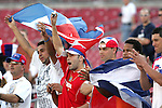 13 March 2008: Unidentified Cuba fans. The Honduras U-23 Men's National Team defeated the Cuba U-23 Men's National Team 2-0 at Raymond James Stadium in Tampa, FL in a Group A game during the 2008 CONCACAF's Men's Olympic Qualifying Tournament.