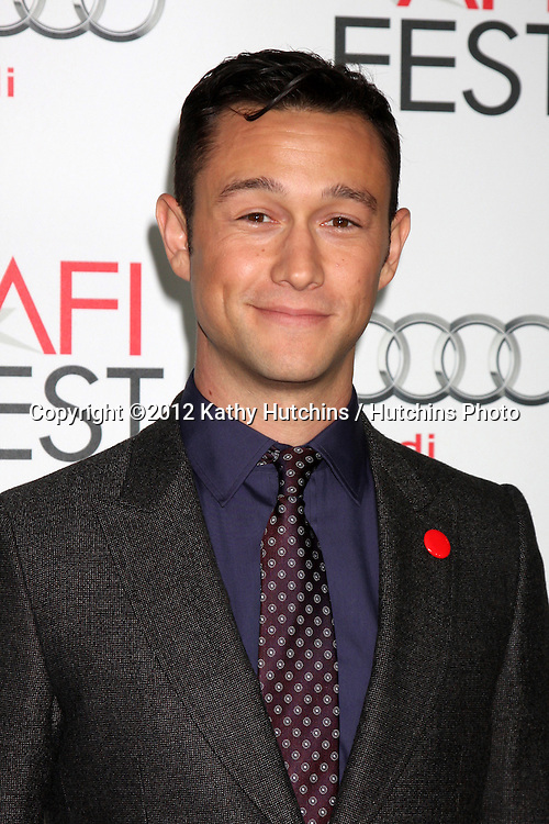 """LOS ANGELES - NOV 8:  Joseph Gordon-Levitt arrives at the """"Lincoln"""" Premiere at the AFI Fest at Graumans Chinese Theater on November 8, 2012 in Los Angeles, CA"""