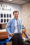 Allan Edelhajt. Tailor in Berlin, originally from Gothenburg (Sweden) (Photo by Gregor Zielke)