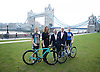 Sadiq Khan, Mayor of London and Olympian Katie Archibald announce world-famous Women&rsquo;s Tour coming to London for the first time on 11th June 2017.<br /> Potters Field outside City Hall, London, Great Britain <br /> 15th February 2017 <br /> <br /> <br /> <br /> Abi van Twisk <br /> Team WNT<br /> <br /> <br /> Claire Pulford <br /> Head of events - Breast Cancer Care <br /> <br /> Sadiq Khan <br /> <br /> Mick Bennett <br /> Race Director <br /> <br /> <br /> Katie Archibald (22)<br /> Olympic Gold Medalist <br /> Team Pursuit <br /> Team WNT <br /> <br /> <br /> <br /> <br />  <br /> The Mayor of London, Sadiq Khan, and Olympic Gold medallist Katie Archibald have announced this morning that London will host the final stage of The Women's Tour for the very first time on Sunday June 11.<br />  <br /> <br /> <br /> <br /> <br /> Photograph by Elliott Franks <br /> Image licensed to Elliott Franks Photography Services