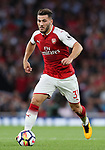 Arsenal's Sead Kolasinac in action during the premier league match at the Emirates Stadium, London. Picture date 11th August 2017. Picture credit should read: David Klein/Sportimage
