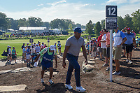 Jhonattan Vegas (VEN) heads to 12 during 1st round of the 100th PGA Championship at Bellerive Country Cllub, St. Louis, Missouri. 8/9/2018.<br /> Picture: Golffile | Ken Murray<br /> <br /> All photo usage must carry mandatory copyright credit (© Golffile | Ken Murray)