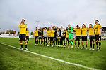 2015-10-25 / Voetbal / seizoen 2015-2016 / KSK Heist - K Lierse SK / svbo / Lierse viert de overwinning<br /><br /> Foto: Mpics.be