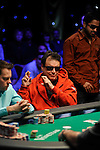 """Miami"" John Cernuto hopes his hand holds after hitting his ace on the flop.  He was all in"