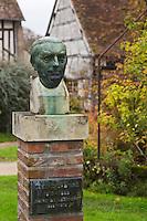 Europe/France/Centre/41/Loir-et-Cher/Sologne/Souvigny-en-Sologne : Statue d'Eugène Labiche  // Europe/France/Centre/41/Loir-et-Cher/Sologne/Souvigny-en-Sologne :  Eugène Labiche's statue