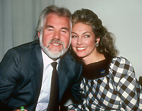 Kenny Rogers with wife Marianne 1982 <br /> FILE PHOTO<br /> Photo by Adam Scull-PHOTOlink