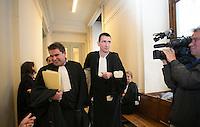 Medhi Nemmouche comparaît devant la Chambre des mises en accusation, à Bruxelles - Belgique