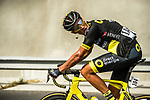 Damien Gaudin (FRA) Direct Energie from the breakaway during Stage 4 of 10th Tour of Oman 2019, running 131km from Yiti (Al Sifah) to Oman Convention and Exhibition Centre, Oman. 19th February 2019.<br /> Picture: ASO/K&aring;re Dehlie Thorstad | Cyclefile<br /> All photos usage must carry mandatory copyright credit (&copy; Cyclefile | ASO/K&aring;re Dehlie Thorstad)