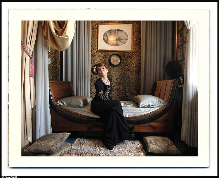 MOLLINO STYLE. <br /> Patrizia Sandretto, presidente della fondazione omonima.