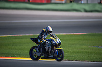 VALENCIA, SPAIN - NOVEMBER 8: Marcel Schrotter during Valencia MotoGP 2015 at Ricardo Tormo Circuit on November 8, 2015 in Valencia, Spain