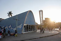 BELO HORIZONTE, MG, 23.07.2016 - CIDADE-BH - Igreja de São Francisco de Assis, Igrejinha da Pampulha, considerada Patrimônio Cultural da Humanidade pela Organização das Nações Unidas, na região da Pampulha, em Belo Horizonte, Minas Gerais, neste sabado, 23. (Foto: Doug Patricio / Brazil Photo Press).