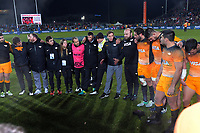 during the 2019 Super Rugby final between the Crusaders and Jaguares at Orangetheory Stadium in Christchurch, New Zealand on Saturday, 6 July 2019. Photo: Dave Lintott / lintottphoto.co.nz