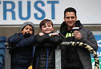 Blackburn Rovers Fans at the start off todays match<br /> <br /> Photographer Rachel Holborn/CameraSport<br /> <br /> The EFL Sky Bet League One - Blackburn Rovers v Oldham Athletic - Saturday 10th February 2018 - Ewood Park - Blackburn<br /> <br /> World Copyright &copy; 2018 CameraSport. All rights reserved. 43 Linden Ave. Countesthorpe. Leicester. England. LE8 5PG - Tel: +44 (0) 116 277 4147 - admin@camerasport.com - www.camerasport.com
