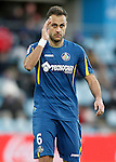 Getafe's Juan Cala during La Liga match. February 27,2016. (ALTERPHOTOS/Acero)