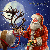 Christmas - Classical Santas Paintings Marcello Corti