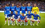 29.08.2019 Rangers v Legia Warsaw: Rangers team