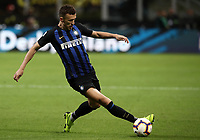 Calcio, Serie A: Inter Milano - AC Milan , Giuseppe Meazza stadium, .October 21, 2018.<br /> Inter's Ivan Perisic in action during the Italian Serie A football match between Inter and Milan at Giuseppe Meazza (San Siro) stadium, October 21, 2018.<br /> UPDATE IMAGES PRESS/Isabella Bonotto