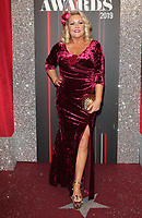 Lisa Rogers at The British Soap Awards 2019 arrivals. The Lowry, Media City, Salford, Manchester, UK on June 1st 2019<br /> CAP/ROS<br /> ©ROS/Capital Pictures