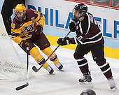 Nate Condon (MN - 16), Jeff Taylor (Union - 2) - The Union College Dutchmen defeated the University of Minnesota Golden Gophers 7-4 to win the 2014 NCAA D1 men's national championship on Saturday, April 12, 2014, at the Wells Fargo Center in Philadelphia, Pennsylvania.
