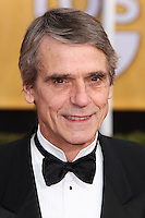LOS ANGELES, CA - JANUARY 18: Jeremy Irons at the 20th Annual Screen Actors Guild Awards held at The Shrine Auditorium on January 18, 2014 in Los Angeles, California. (Photo by Xavier Collin/Celebrity Monitor)