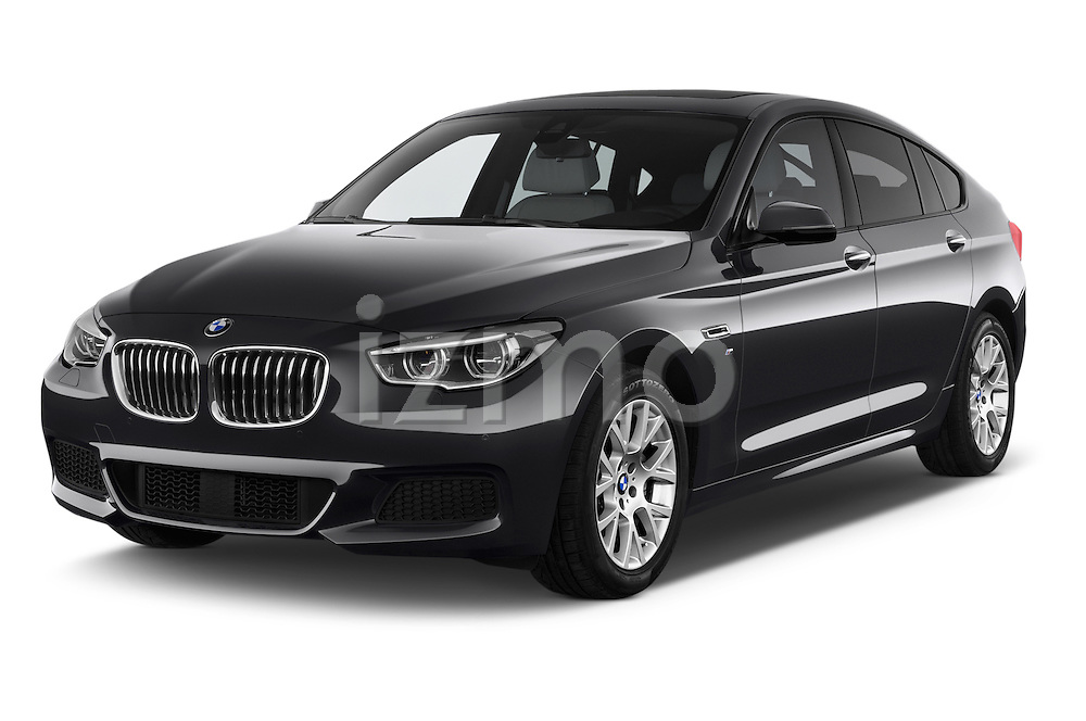 2015 BMW SERIES 5 M Sport 2WD AT 5 Door Hatchback 2WD Angular Front stock photos of front three quarter view