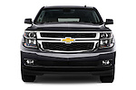 Straight front view of a 2015 Chevrolet Suburban 2WD 1500 LT 5 Door SUV