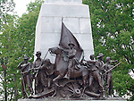 BRONZE STATUES MEMORIALIZING the HEROES of the MEXICAN AMERICAN WAR