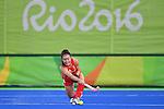 17/08/2016 - New Zealand v Great Britain - Womens Hockey semi final - Rio de Janeiro - Brazil